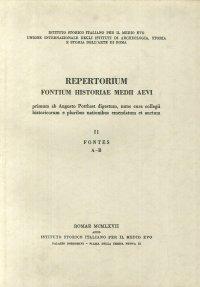 Repertorium fontium historiae Medii Aevi. Vol. 2.