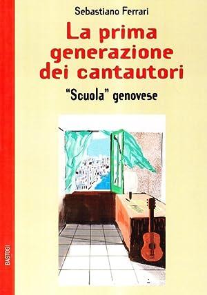 """La Prima Generazione dei Cantautori """"Scuola Genovese"""".: Ferrari, Sebastiano"""