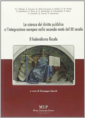 La scienza del diritto pubblico e l'integrazione