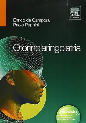 Otorinolaringoiatria.: De Campora, Enrico