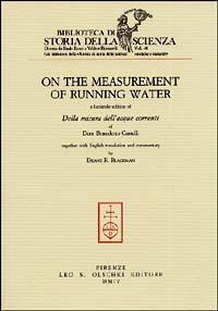 On the measurement of running water-Della misura