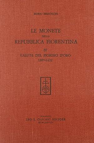 Le monete della Repubblica fiorentina. Vol. 4: Bernocchi, Mario