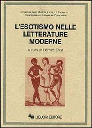 L'esotismo nelle letterature moderne.: Zolla, Elémire