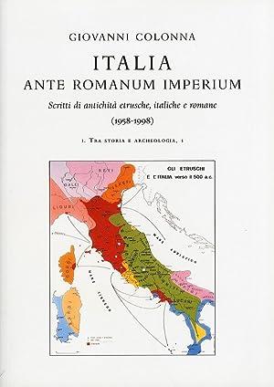 Italia Ante Romanum Imperium. Scritti di antichità: Colonna, Giovanni