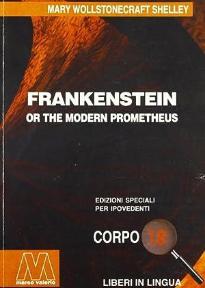 Frankenstein. Ediz. per ipovedenti.: Shelley, Mary