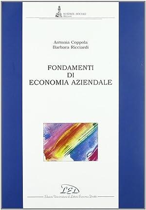 Fondamenti di economia aziendale: Coppola, Antonia Ricciardi,
