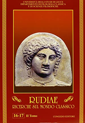 Rudiae. Ricerche sul mondo classico vol. 16-17/2.: aa.vv.