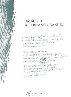 Omaggio a Fernando Bandini.: Leso, Erasmo Spinello, Annalisa Afribo, Andrea