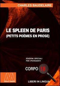 Le spleen de Paris. Ediz. per ipovedenti.: Baudelaire, Charles