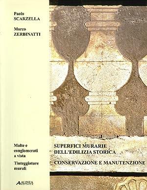 Superfici Murarie dell'Edilizia Storica. Vol. 2: Conservazione e Manutenzione. Malte e ...