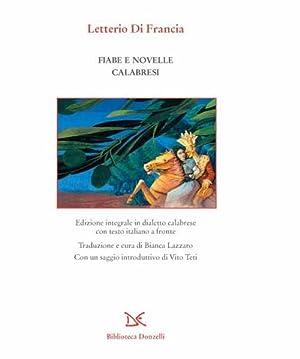 Fiabe e novelle calabresi: Di Francia Letterio