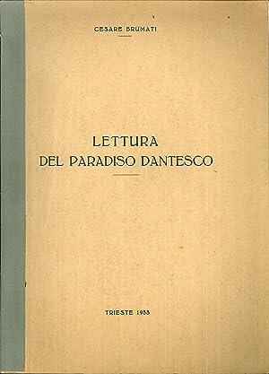 Lettura del Paradiso dantesco: Cesare Brumati