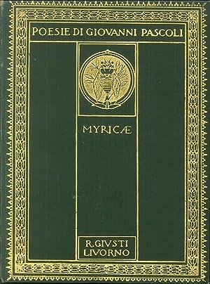 Myricae.: Giovanni Pascoli