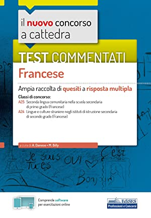 nuovo concorso a cattedra. Test commentati Francese.: Danese A; Billy