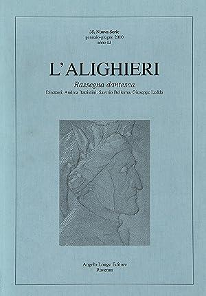 L'Alighieri. Rassegna dantesca. Vol. 35.: aa.vv.