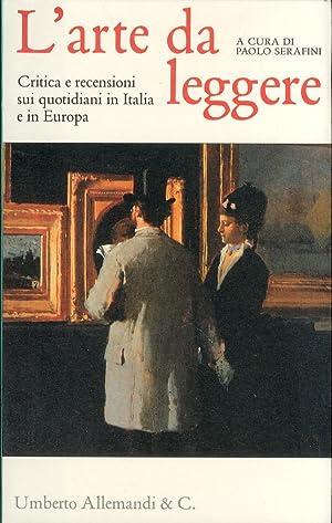 L'Arte Da Leggere. Critica e Recensioni sui: Serafini, Paolo