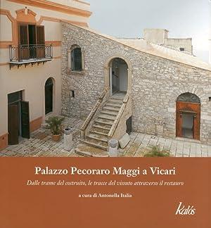 Palazzo Pecoraro Maggi a Vicari. Dalle trame del costruito, le tracce del vissuto attraverso il ...