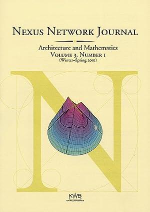 Nexus Network Journal. III/2001. 1 (Winter - Spring 2001). Architecture and Mathematics.