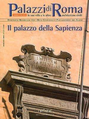 Il palazzo della Sapienza.: aa.vv.