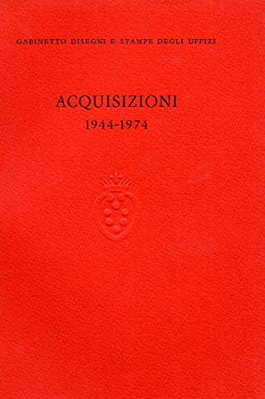 Acquisizioni (1944-1974). Gabinetto disegni e stampe degli Uffizi.: Roger Absalom