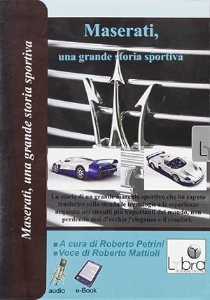 Maserati, una Grande Storia Sportiva. CD-ROM.: Petrini, Roberto