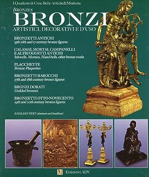 Bronzi artistici, decorativi e d'uso.: aa.vv.