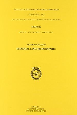 Stendhal e Pietro Bonaparte.: Giuliano, Antonio