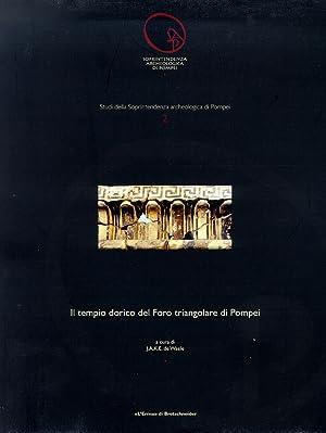Il tempio dorico del Foro Triangolare di Pompei.