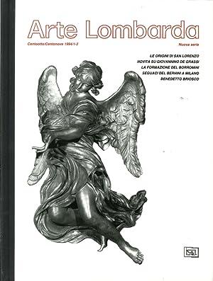 Arte lombarda. Nuova serie. 108-109/1994. Le origini di San Lorenzo. Novità su ...