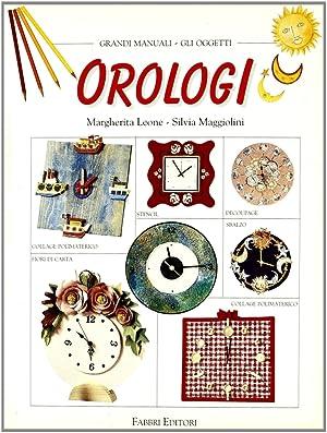 Orologi.: Leone, Margherita Maggiolini, Silvia