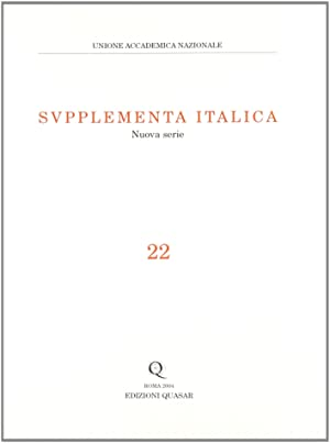 Supplementa Italica. Nuova Serie. 22.: aa.vv.