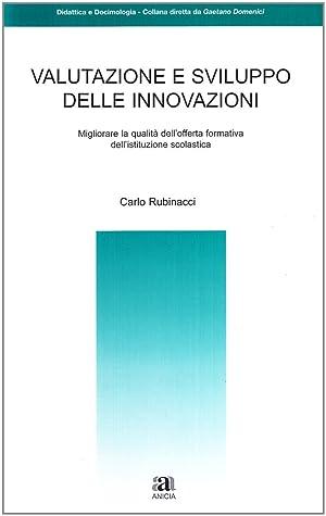 Valutazione e sviluppo delle innovazioni.: Rubinacci, Carlo