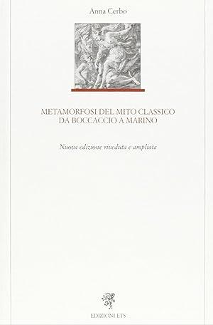 Metamorfosi del mito classico da Boccaccio a: Cerbo, Anna