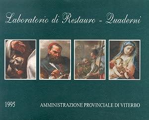 Laboratorio di Restauro. Quaderni. 1995.