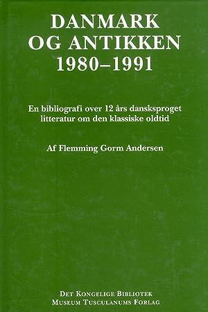 Danmark og antikken 1980-1991.: Gorm Flemming, Andersen