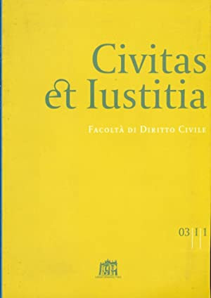 Civitas et Iustitia. Facoltà di diritto civile.