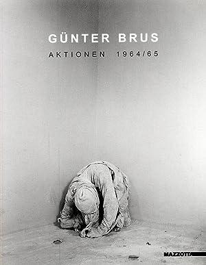 Gunter Brus. Aktionen 1964/65.
