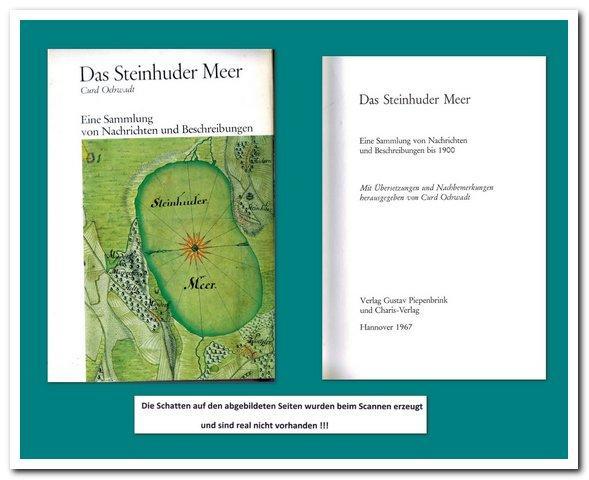 Das Steinhuder Meer (Eine Sammlung von Nachrichten: Ochwadt, Curd