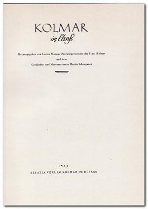 Kolmar im Elsaß -, (Jahrbuch der Stadt: Manny, Luzian (Herausgeber)