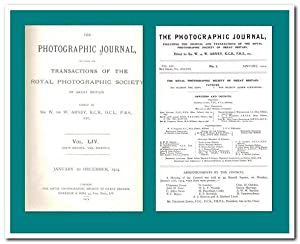The photographic journal including the transactions of the Royal Photographic Society of Great Br...