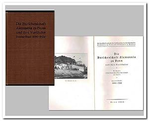 Die Burschenschaft Alemannia zu Bonn und ihre