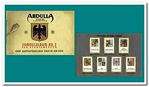 Sammelalbum Nr. 2 der Staatswappen aller wappenführenden: Abdulla Superb Cigarettes