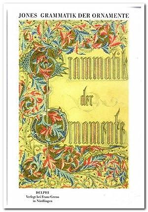 Konvolut von 2 Bänden zur Grammatik der: Jones, Owen