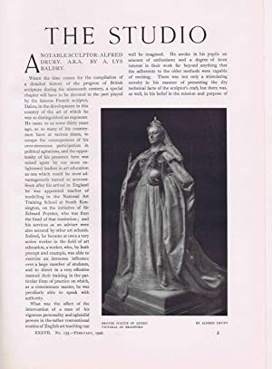 The Studio - An illustrated magazine on fine and applied art (Volume 37 (1906)