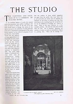 The Studio - An illustrated magazine on fine and applied art (Volume 36 (1905)