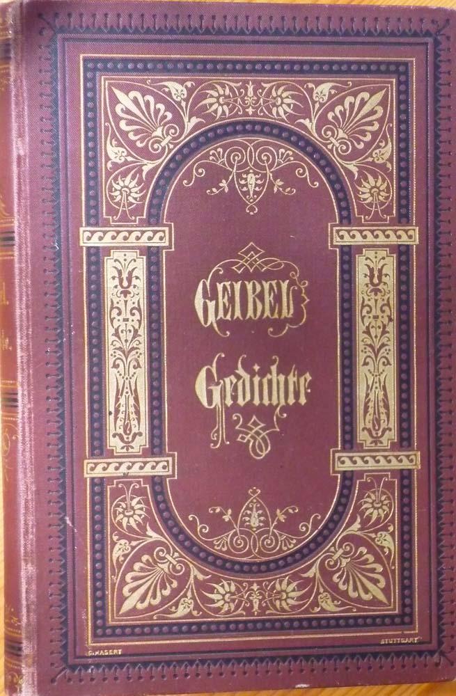 Gedichte Von Emanuel Geibel