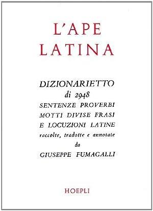 L'ape latina: Fumagalli, Giuseppe: