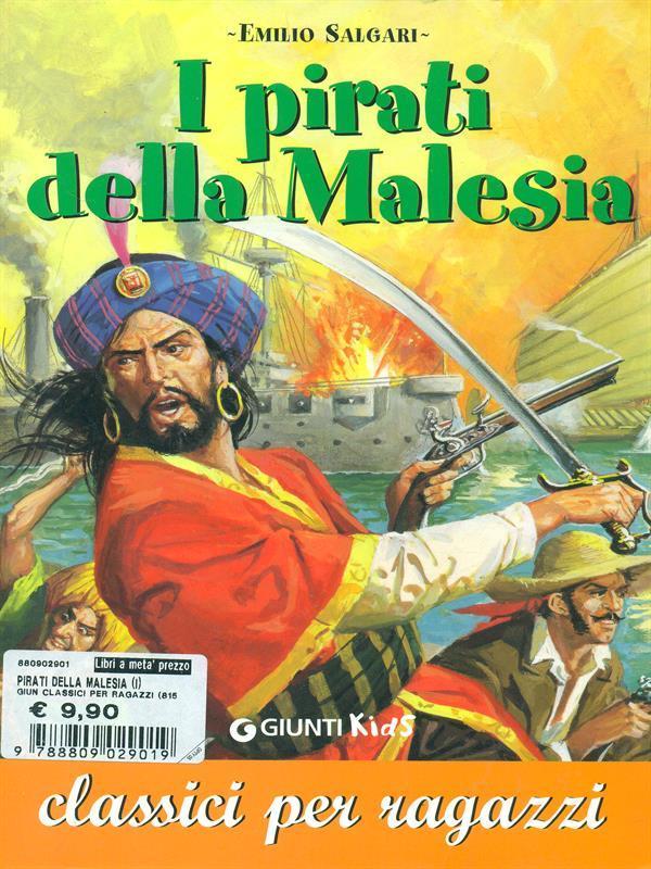 I pirati della Malesia - Emilio Salgari