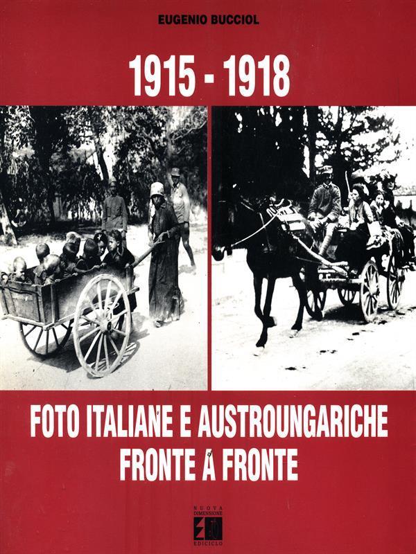 Foto italiane e austro-ungariche fronte a fronte - Cover