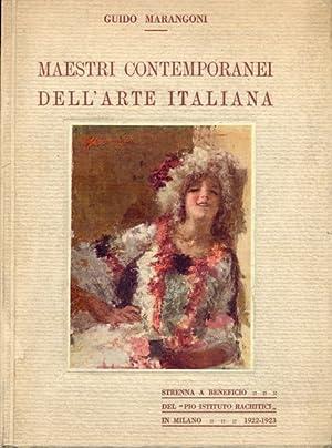 Maestri contemporanei dell'arte italiana - prima serie: Guido Marangoni